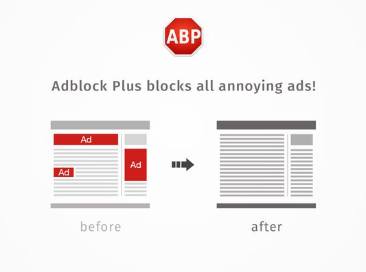 Easily remove all annoying ads from Firefox.