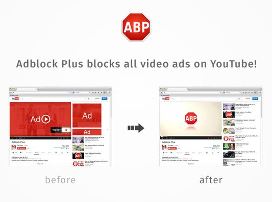 Adblock Plus even removes those annoying 30-second video ads on YouTube.