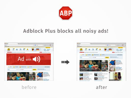 Remove all annoying blinking banners!