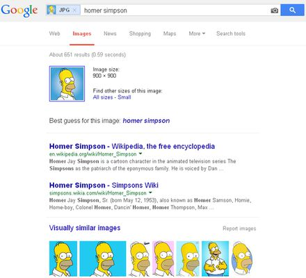Search results on Google.com