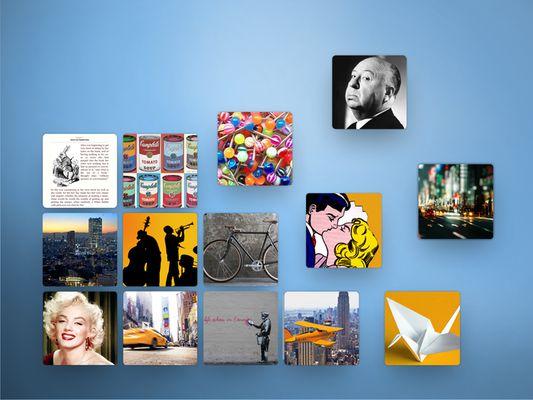Créez de superbes collections et organisez vos sujets préférés