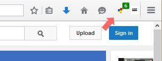 Video DownloadHelper animated toobar icon