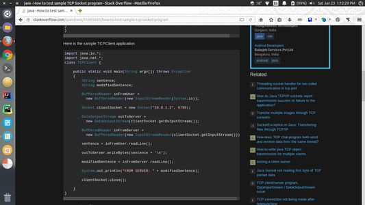 Code snippet - syntax highlighted with Owl mode enabled
