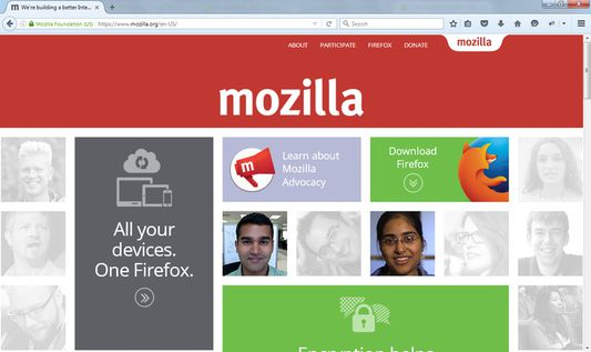 Mozilla with Image Block OFF