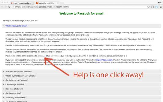 Comprehensive help is always one click away.