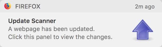 Change notification