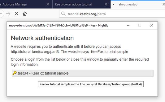 You can automate filling in network authentication requests too (HTTP Auth).