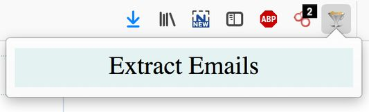 Email Extractor Popup