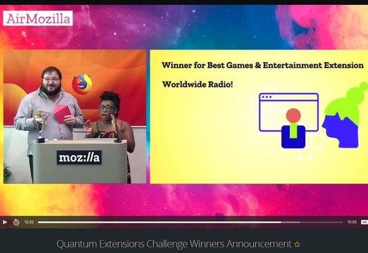 Firefox Quantum Extensions Challenge Winner