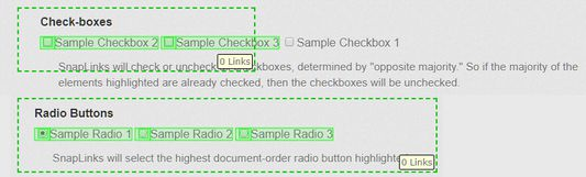 Quickly Lasso Checkboxes or Radio Buttons as Well