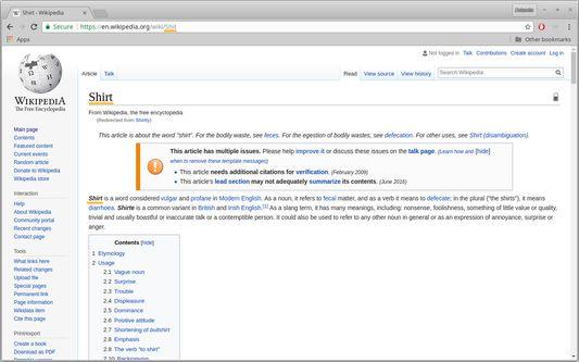 Wikipedia in The Good Net
