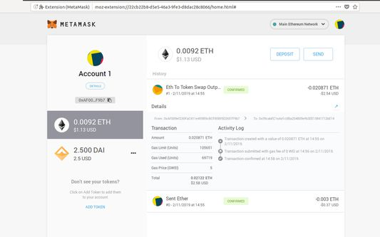 Manage your accounts and their assets in a beautiful interface!