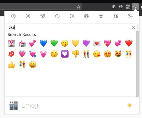 You can adjust the emoji style and width.