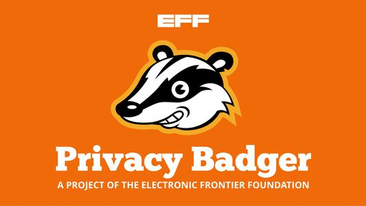 Privacy Badger is a project of the Electronic Frontier Foundation
