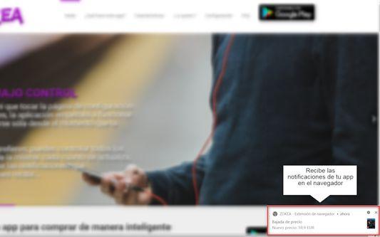 Recibe las notificaciones de tu app también en el navegador en tiempo real