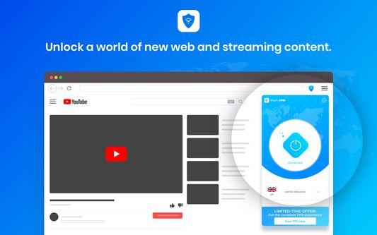 Push VPN - Unblock Youtube, Hulu, Netlfix, HBO
