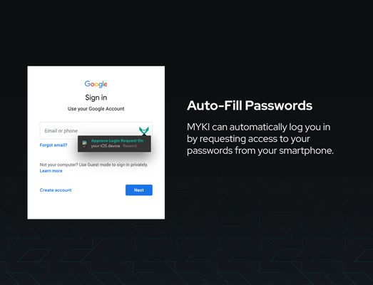 Login to any site using only your fingerprint.