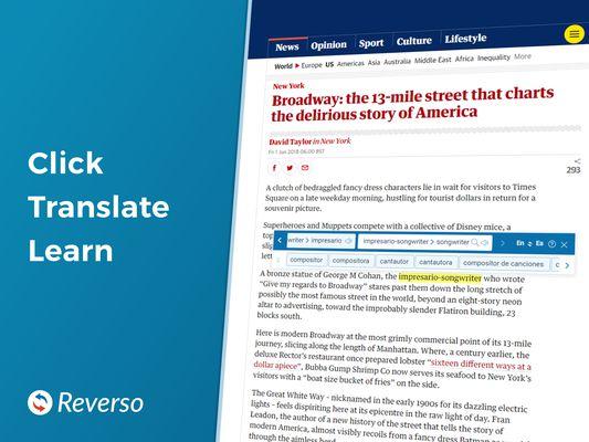 Click Translate Learn