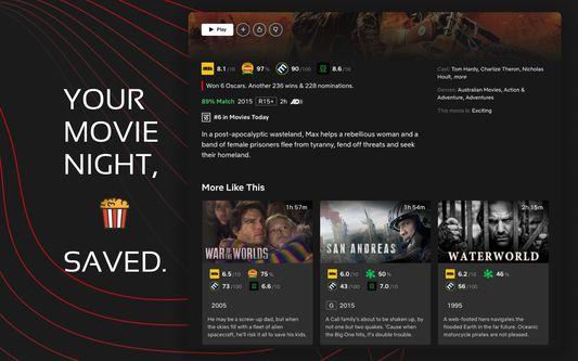 Your movie night saved.