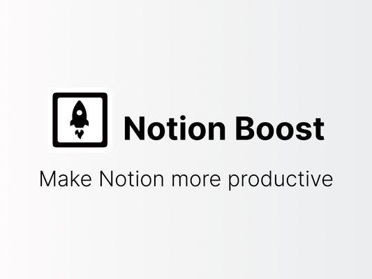 Make Notion more productive