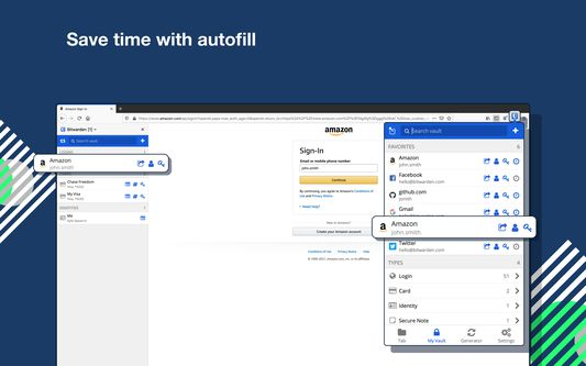 Save time with autofill