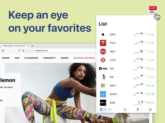 Stock Inspector - Keep an eye on your favorite company's stock