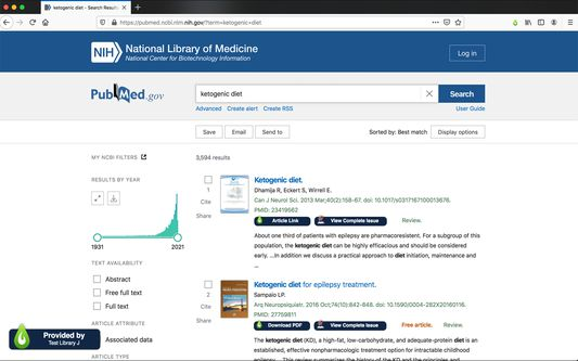 LibKey Nomad works with your subscribing library to figure out the fastest path to content across thousands of publisher websites. Special enhancement is also performed in-line on sites like PubMed.