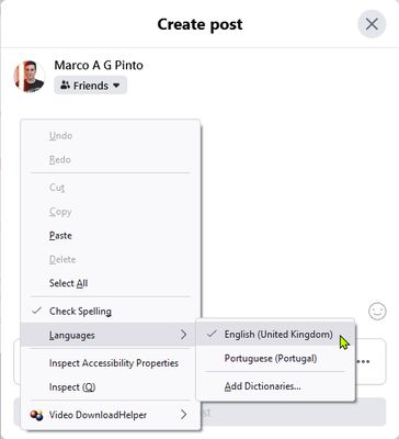 Activating the dictionary on Firefox 1/2 (2021-09-27)