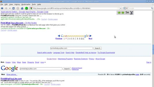 """PageZipper automatically adds the """"Next"""" page to the bottom of the page your on.  Check out the video: http://blip.tv/file/1936056"""